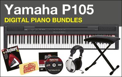 Shop Yamaha P105 Digital Piano Bundles