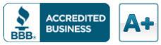 Better Business Bureau Rating: A+