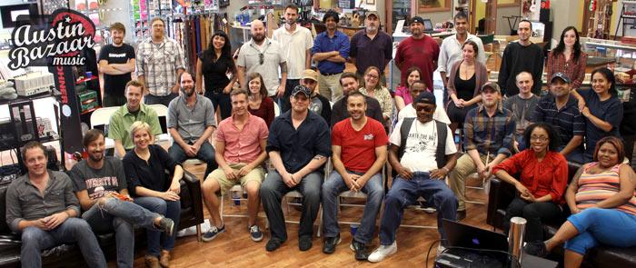 Austin Bazaar Music Staff