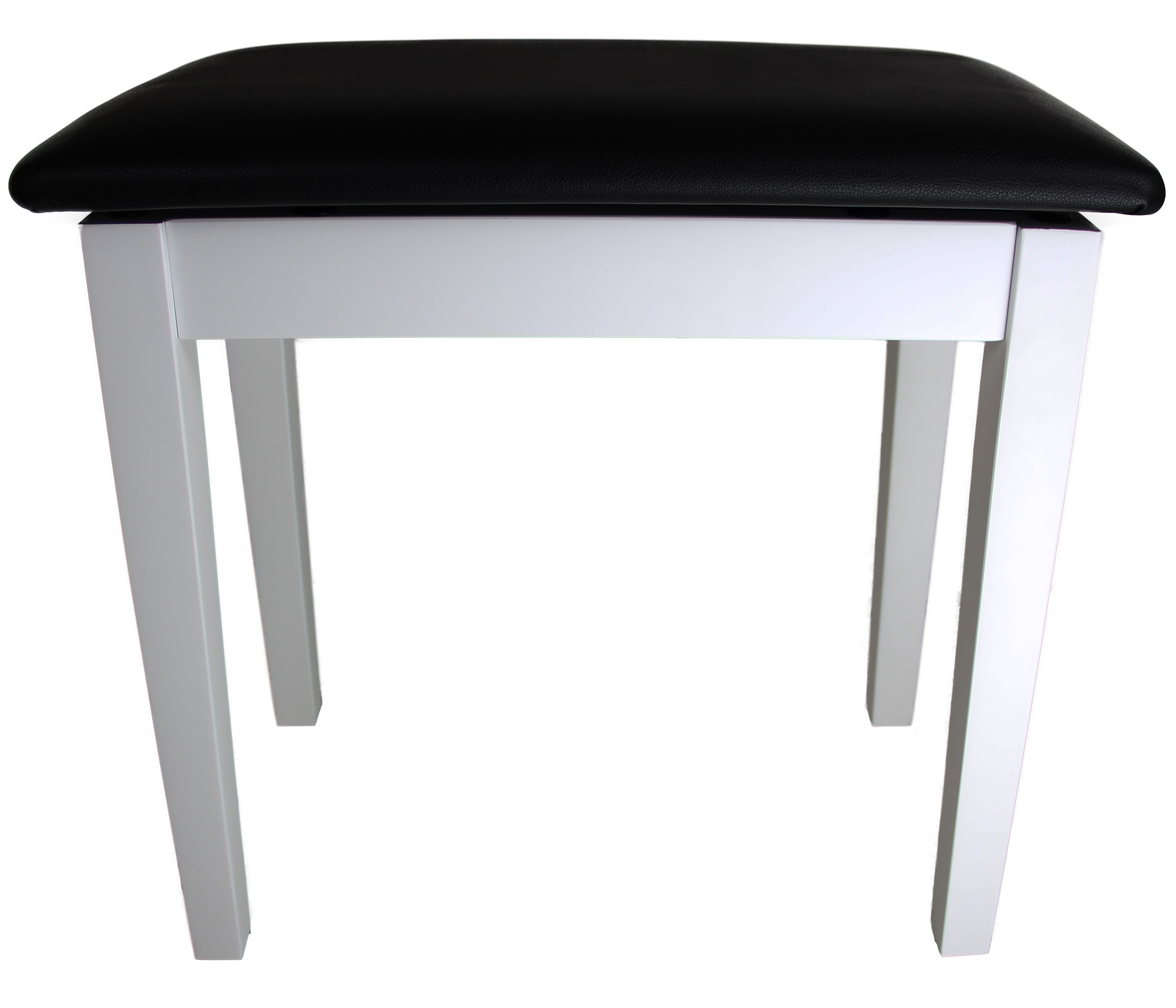Barcelona Flip top Piano Bench White With Matte Finish