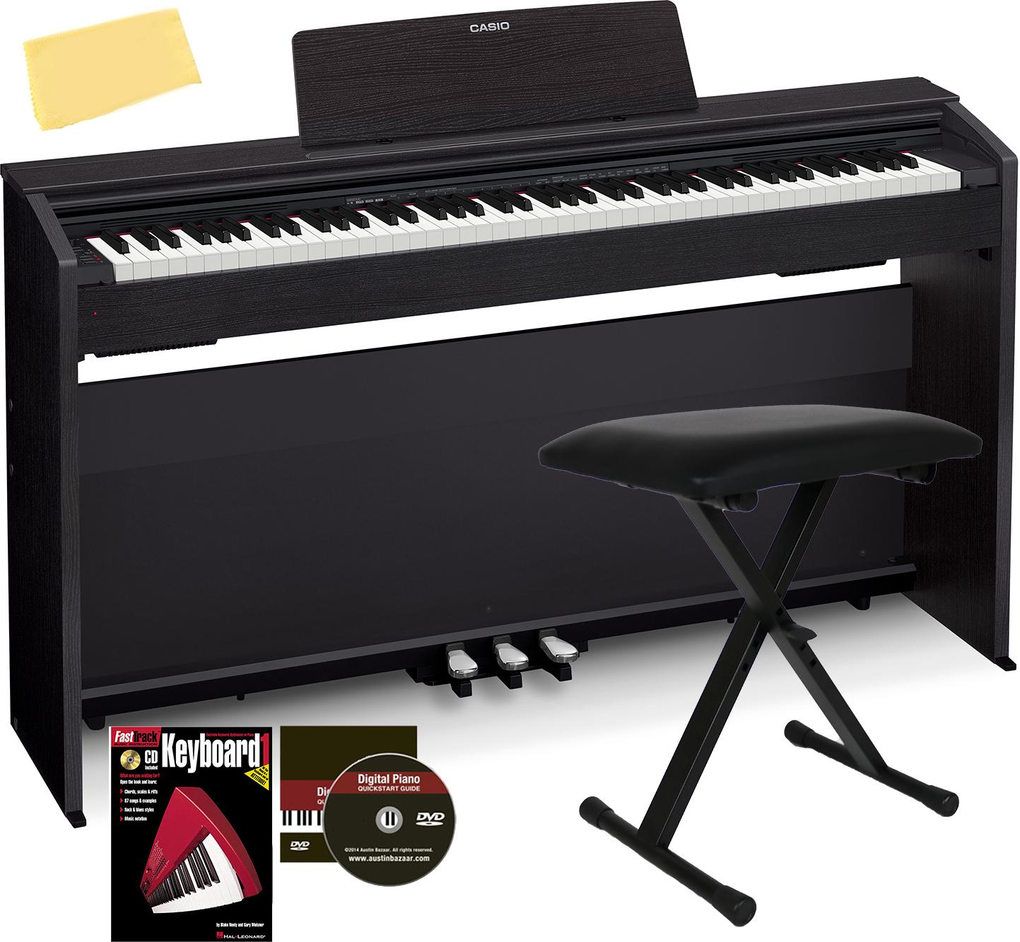 Casio Privia Px 870 Digital Piano Black W Furniture Bench