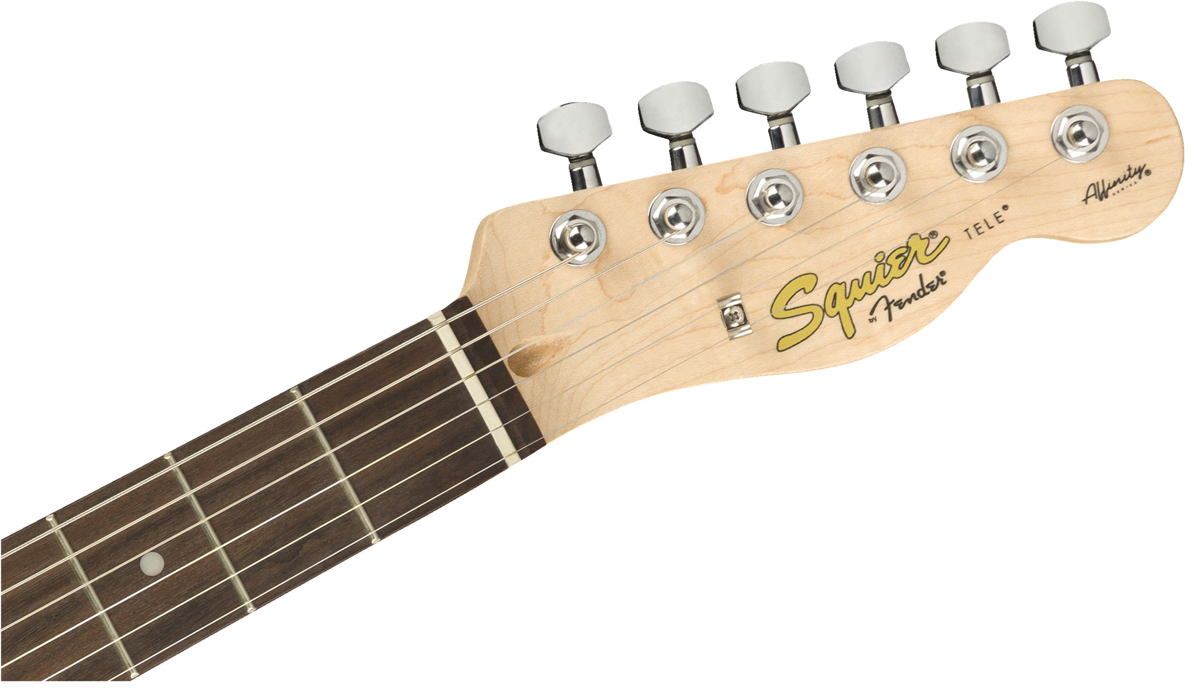 thumbnail 7 - Fender Squier Affinity Telecaster - Slick Silver w/ Frontman 10G Amplifier