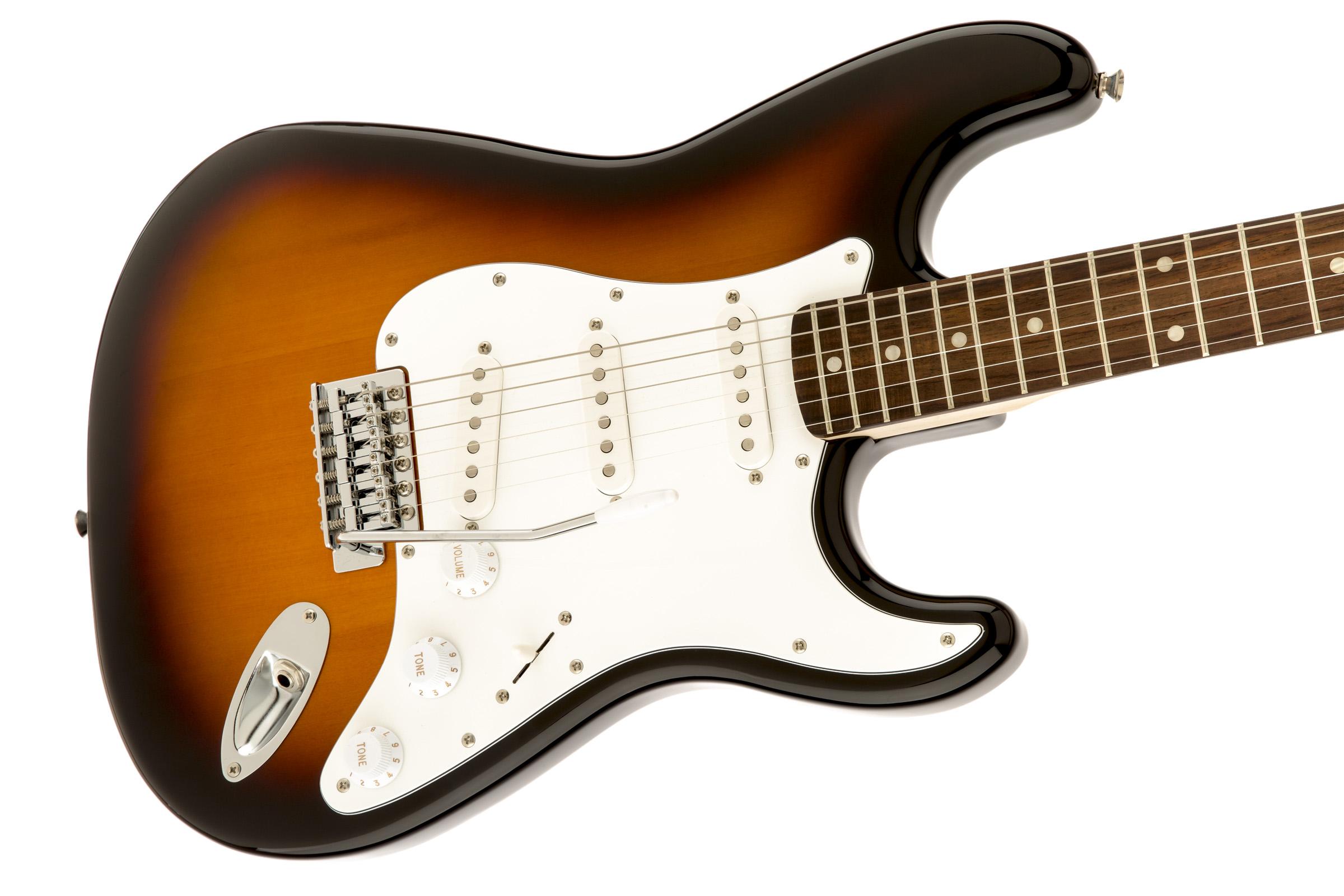 thumbnail 6 - Fender Squier Affinity Stratocaster - Brown Sunburst w/ Frontman 10G Amplifier