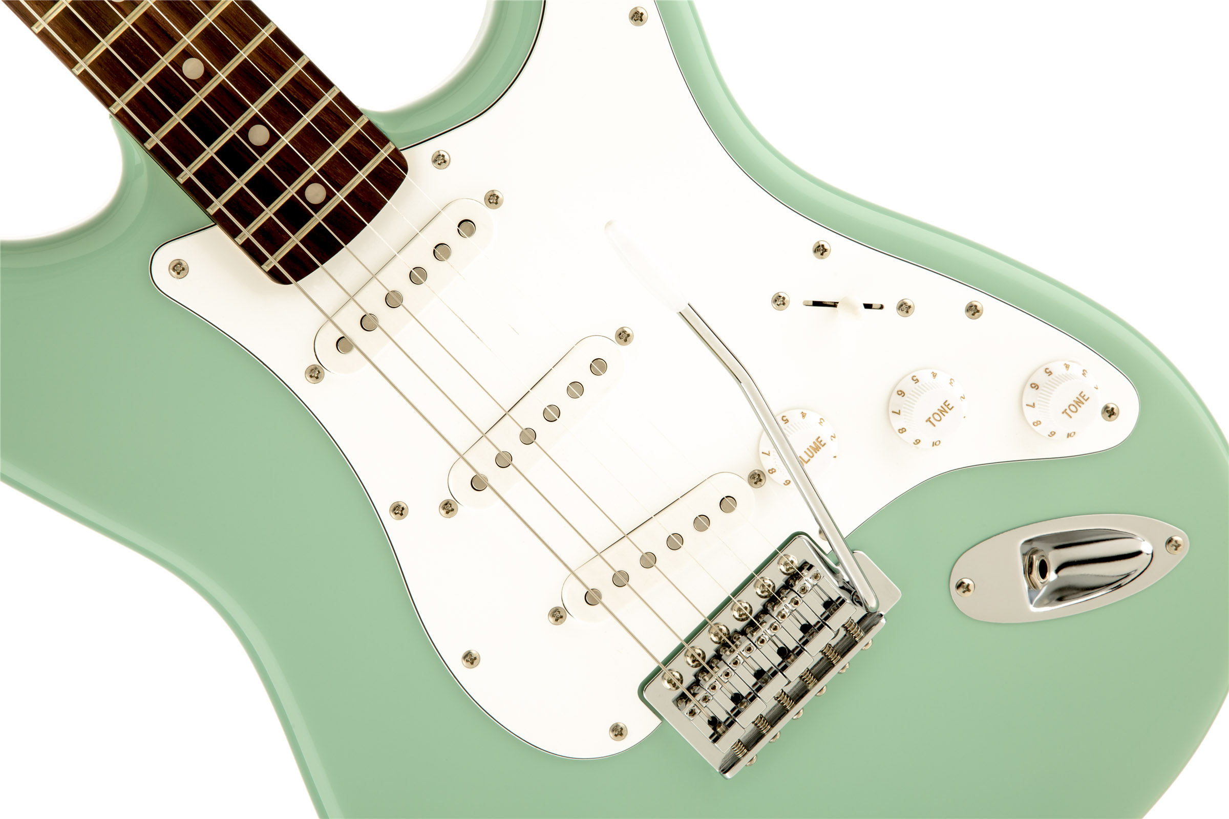 thumbnail 4 - Fender Squier Affinity Stratocaster - Surf Green w/ Frontman 10G Amplifier