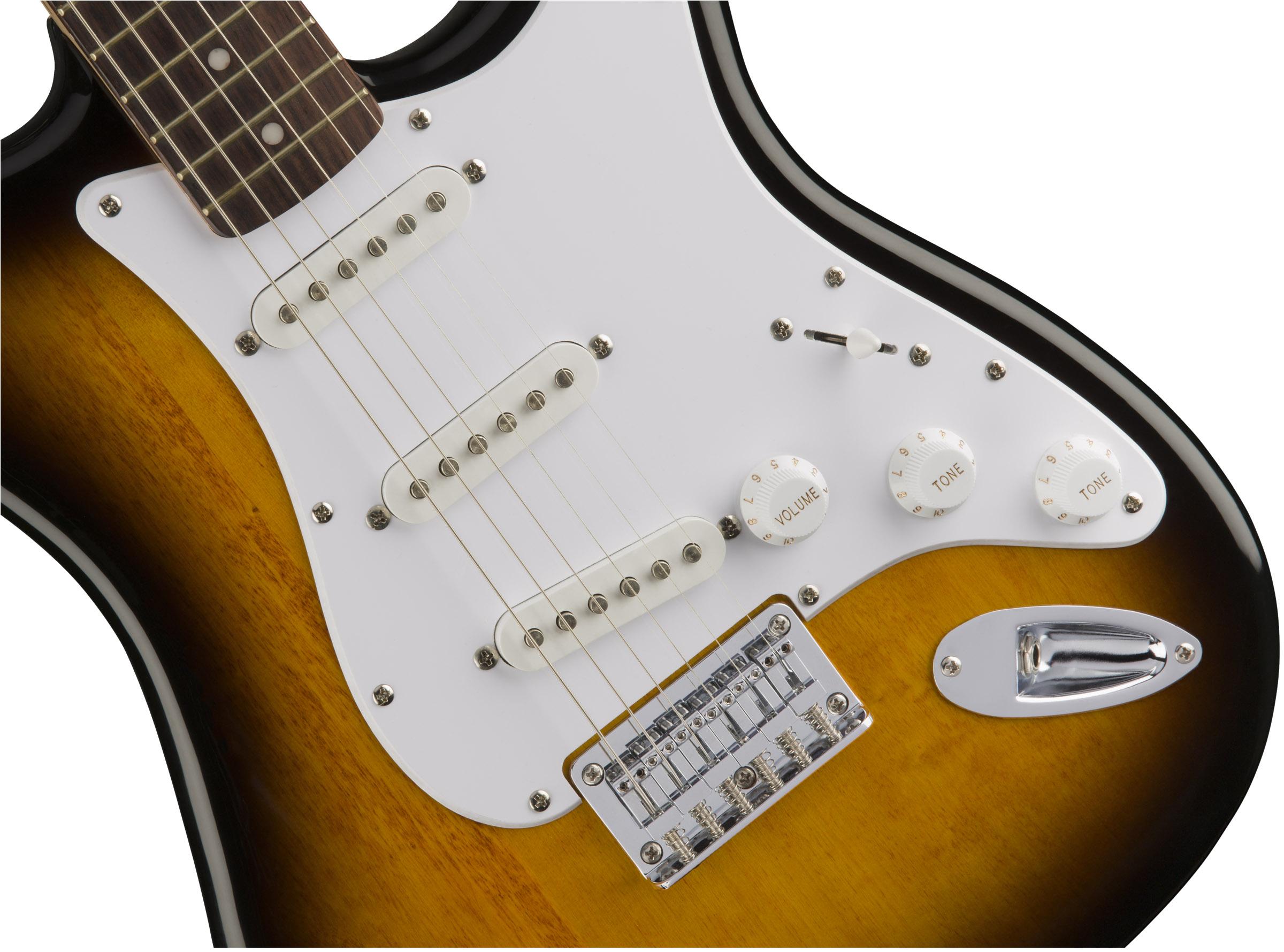 thumbnail 4 - Fender Squier Bullet Stratocaster HT - Sunburst w/ Frontman 10G Amplifier