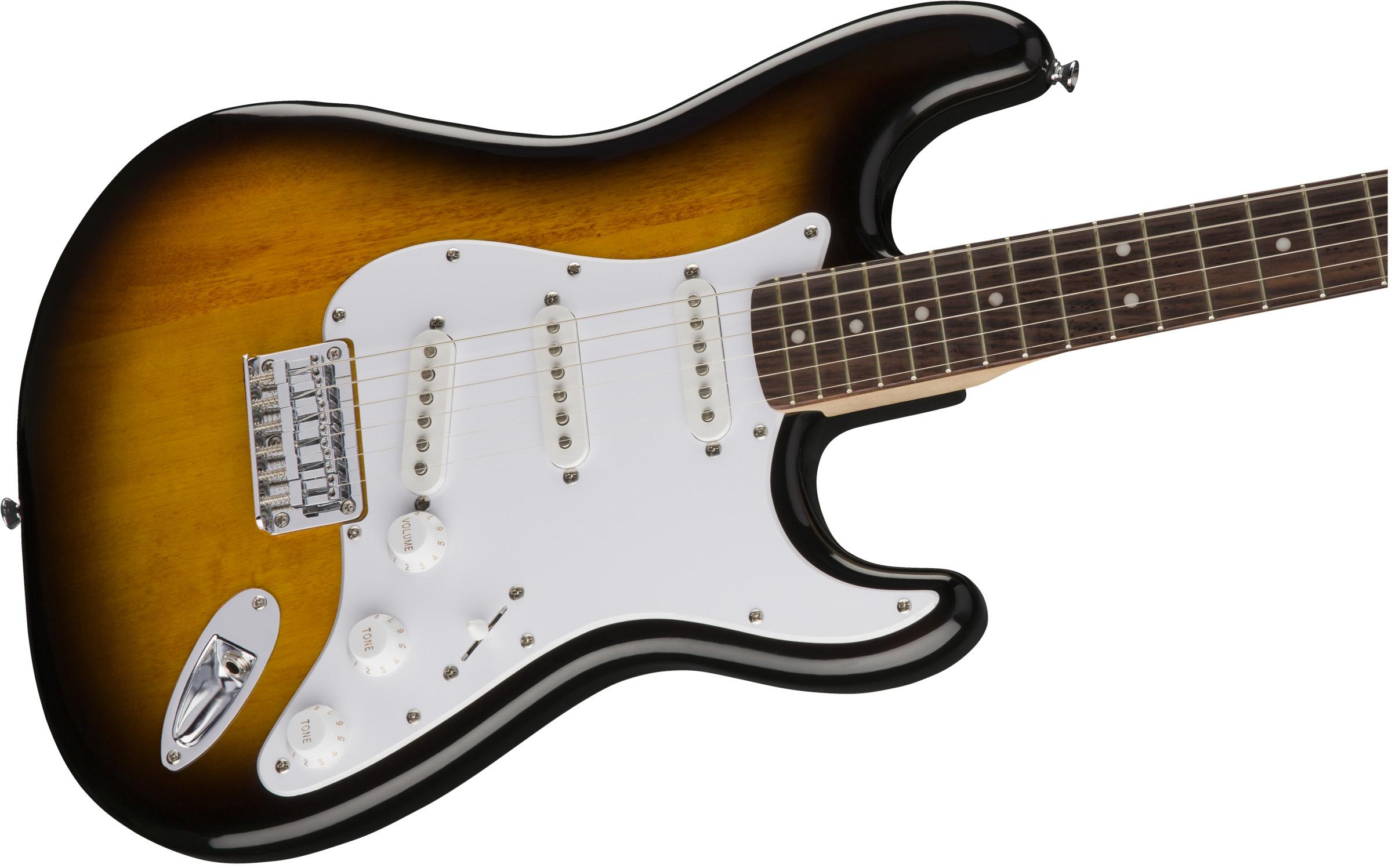 thumbnail 5 - Fender Squier Bullet Stratocaster HT - Sunburst w/ Frontman 10G Amplifier