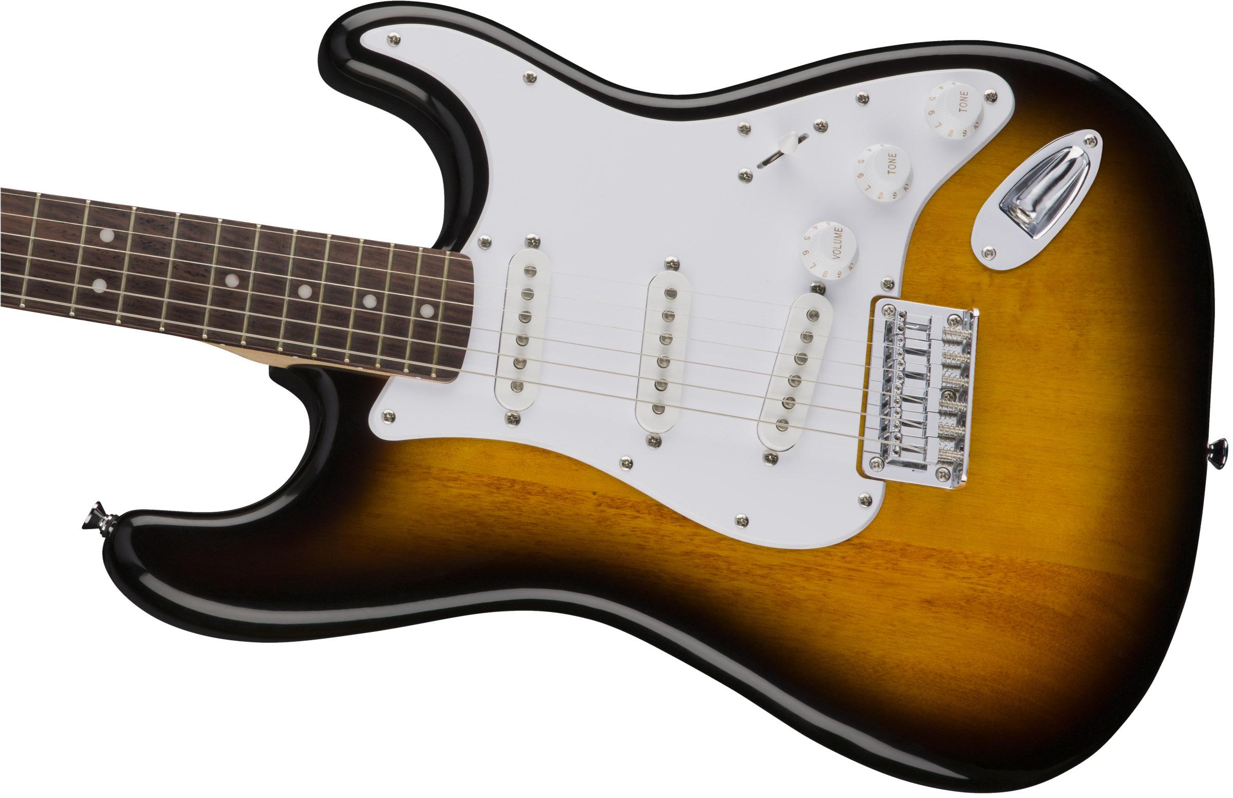 thumbnail 6 - Fender Squier Bullet Stratocaster HT - Sunburst w/ Frontman 10G Amplifier
