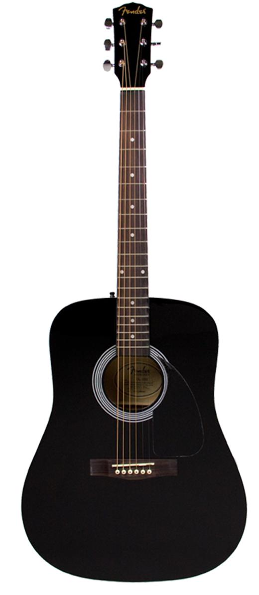 fender fa 100 pack acoustic guitar ebay. Black Bedroom Furniture Sets. Home Design Ideas