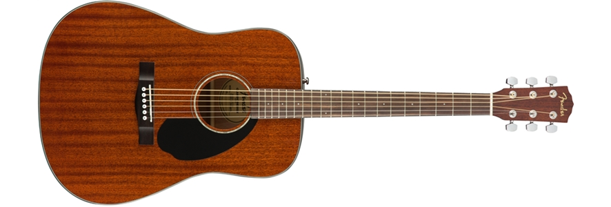 Fender CD-60S Solid Top Dreadnought Acoustic Guitar - All Ma