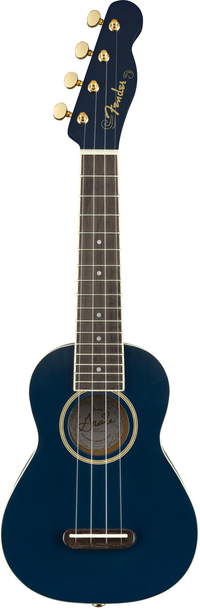 Fender Grace Vanderwaal Moonlight Soprano Ukulele 885978970896 Ebay