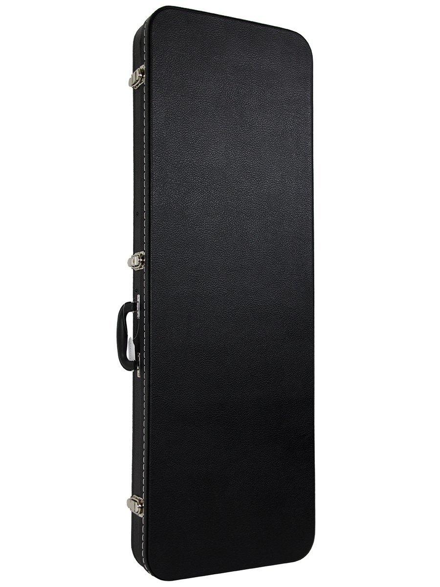 gearlux rectangular electric guitar hard case black for sale online ebay. Black Bedroom Furniture Sets. Home Design Ideas