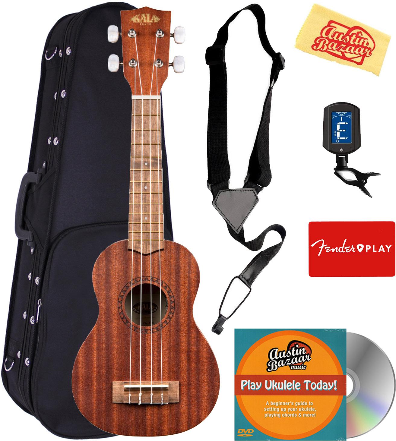 Fender Hermosa Soprano Ukulele W Hard Case For Sale Online Ebay