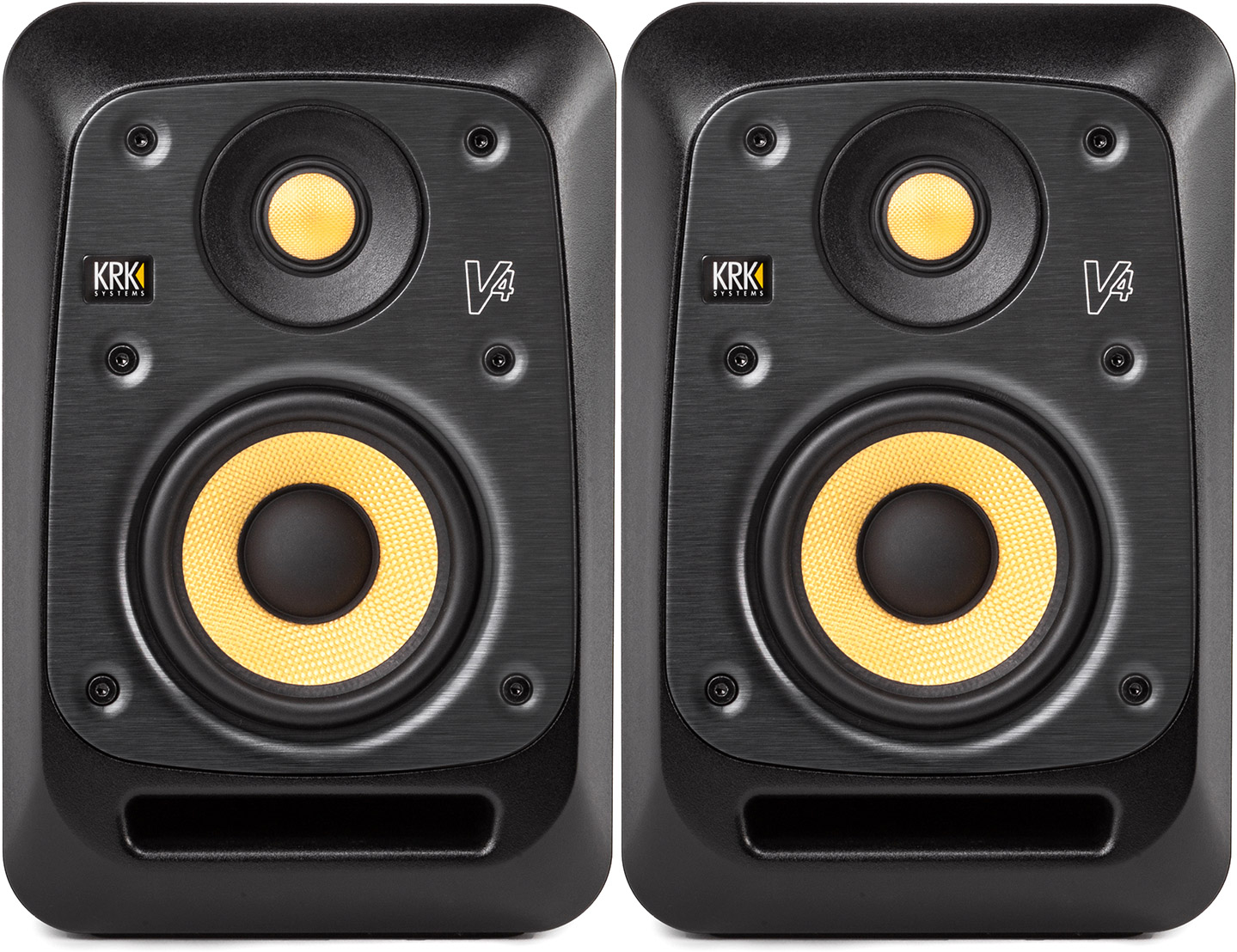 KRK V4 Series 4 4-Inch 2-Way Powered Studio Reference Monito