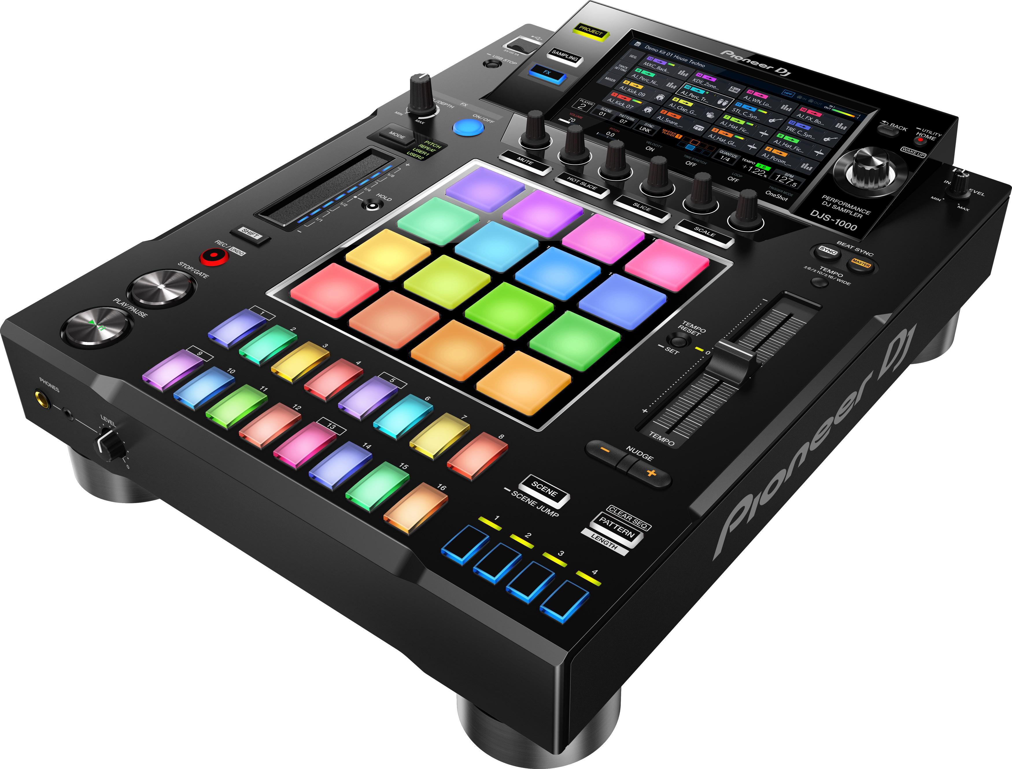 Decksaver DS-PC-DJS1000 Pioneer DJS-1000 DJ Sampler Hard Cover