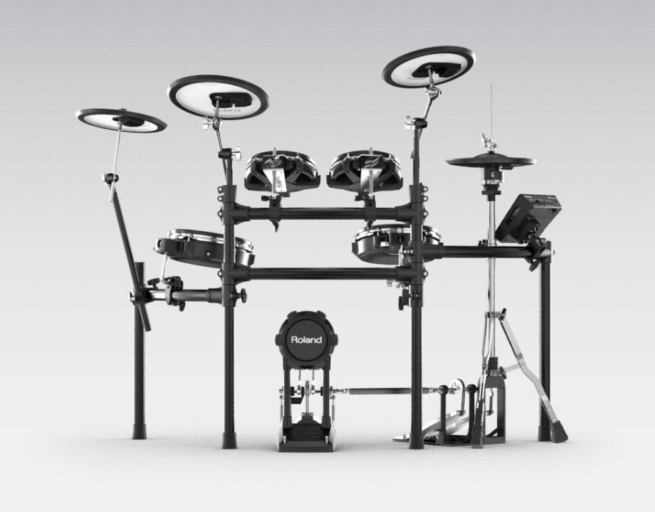 Roland Td25kv V Drums Electronic Drum Set Td25kvs Ebay