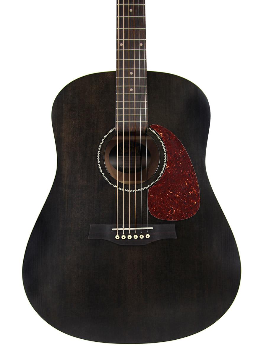 seagull s6 original acoustic guitar black ebay. Black Bedroom Furniture Sets. Home Design Ideas