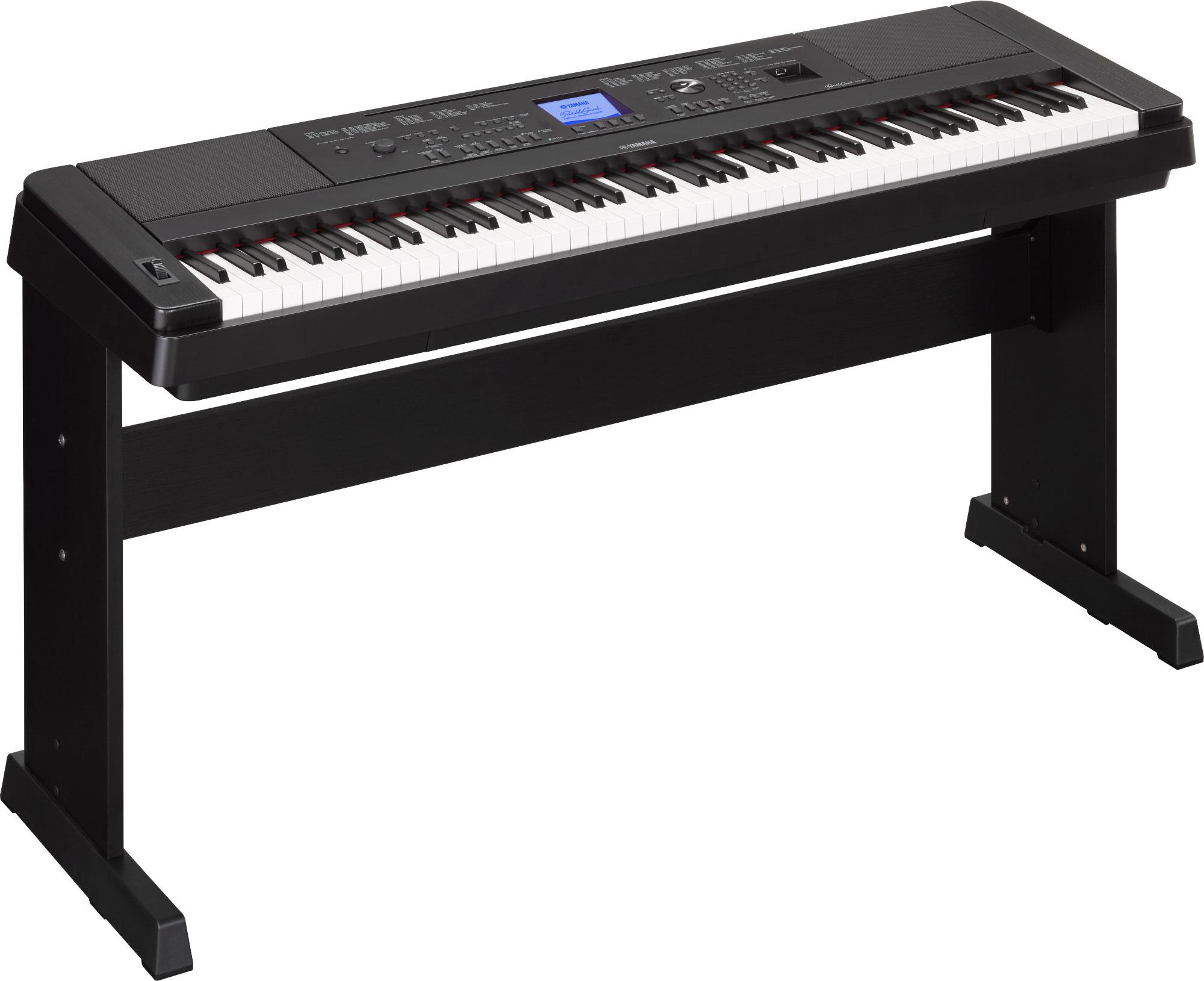 Yamaha DGX-660 Digital Piano - Black