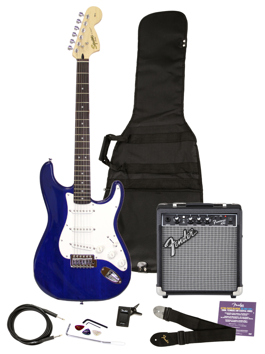 Squier Affinity Strats - Gifts for Guitarists