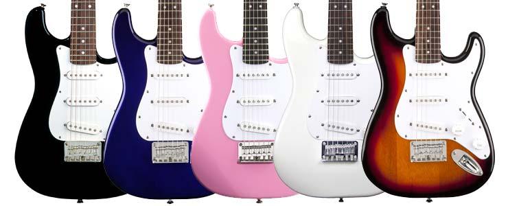Squier Mini Strat Electric Guitar Review A Rockin Mini Electric