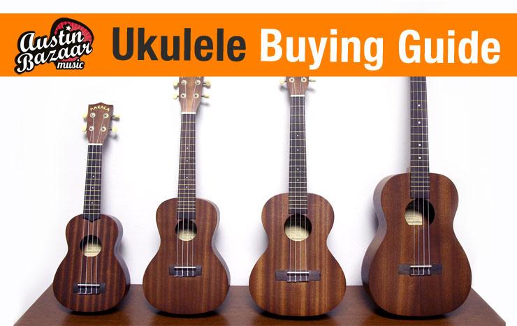 Size Of Ukuleles : ukulele buying guide different ukulele sizes austin bazaar music ~ Vivirlamusica.com Haus und Dekorationen