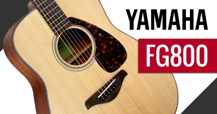 Yamaha FG700 vs FG800 Acoustic Guitars - What's New - Austin