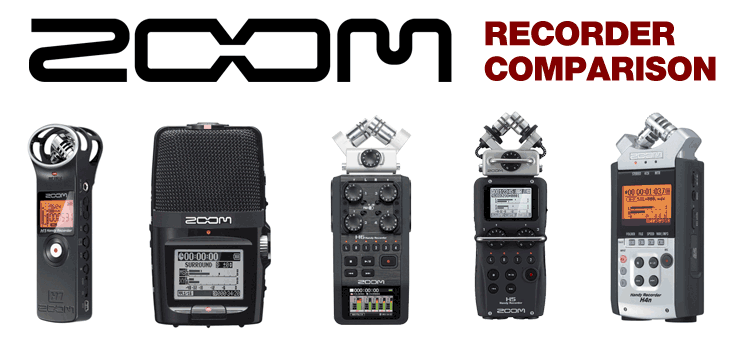 Zoom Recorder Comparison | Which Zoom is best for you? - Austin